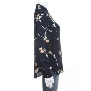 Ganni Tops - Ganni blue button down floral shirt 34 Small top